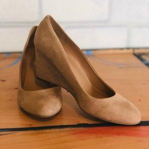 Merona Round toe wedge - pumps